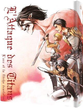 L'attaque des Titans - Film 1 - L'arc et la flèche écarlate (Collector's Edition, Mediabook, Blu-ray + DVD)