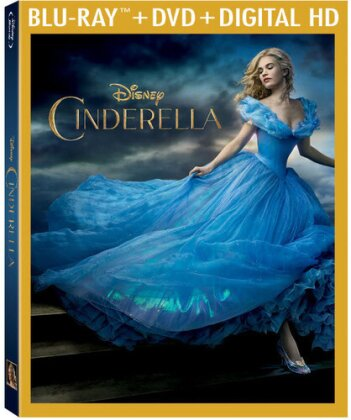 Cinderella (2015) (Blu-ray + DVD)