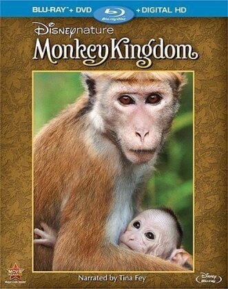 Disneynature - Monkey Kingdom (2015) (Blu-ray + DVD)