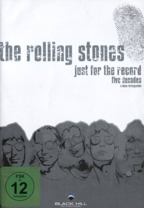 The Rolling Stones - Just for the Record - Five Decades (Inofficial, 4 DVDs)