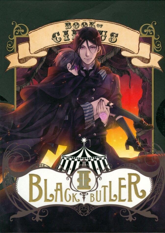 Black Butler: Book of Circus - Saison 3 - Box 2/2 (Digibook, Limited Edition, Blu-ray + DVD)