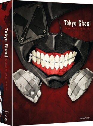 Tokyo Ghoul - Season 1 (Limited Edition, 2 Blu-rays + 2 DVDs)