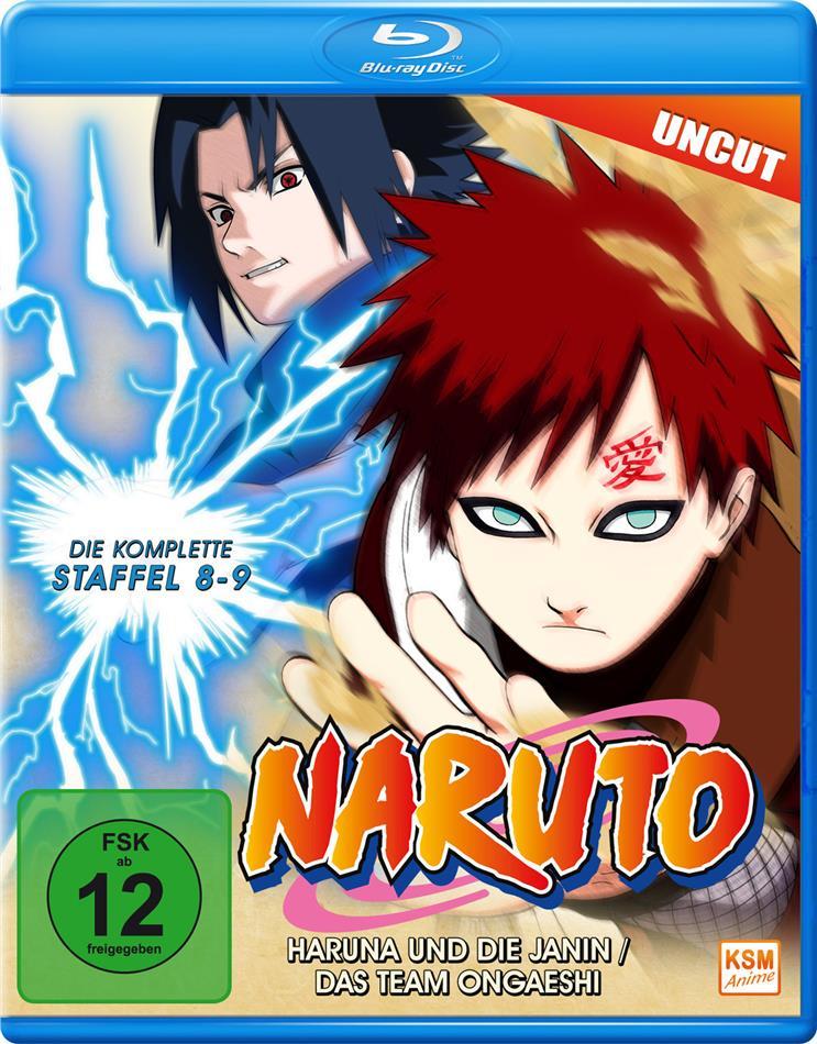 Naruto - Staffel 8 + 9 (Uncut)