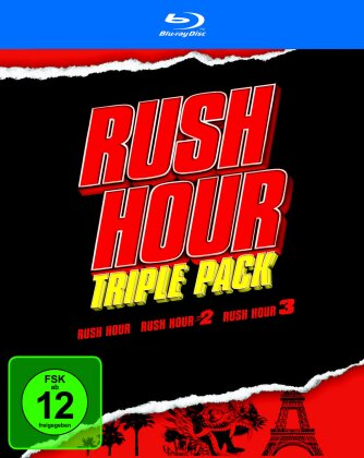 Rush Hour - Triple Pack (3 Blu-rays)
