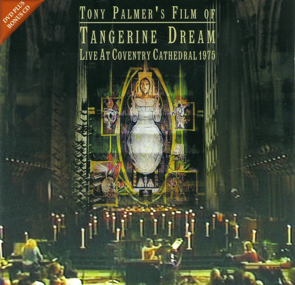 Tangerine Dream - Live At Coventry Cathedral 1975 (Restaurierte Fassung, DVD + CD)