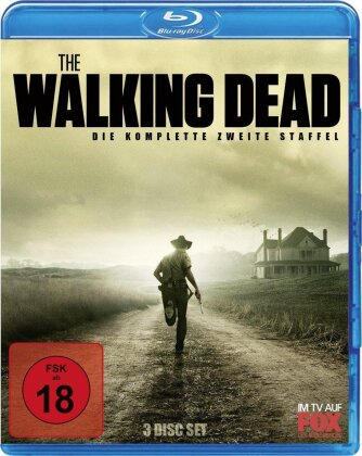 The Walking Dead - Staffel 2 (Limited Edition, 3 Blu-rays)