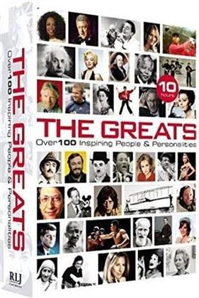 The Greats - Over 100 Inspiring People & Personalities (Collector's Edition, 2 DVD)
