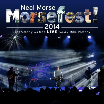 Neal Morse feat. Mike Portnoy - Morsefest! 2014 - Testimony and One Live (2 Blu-rays)