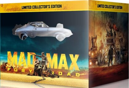 Mad Max - Fury Road (2015) (Coffret Voiture, Limited Collector's Edition, Blu-ray 3D + Blu-ray + DVD)