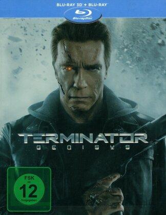 Terminator 5 - Genisys (2015) (Limited Edition, Steelbook, Blu-ray 3D + Blu-ray)