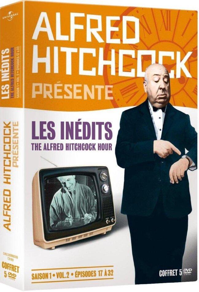 Alfred Hitchcock présente - Les inédits - The Alfred Hitchcock Hour - Saison 1, vol. 2, épisodes 17 à 32 (1962) (b/w, 5 DVDs)
