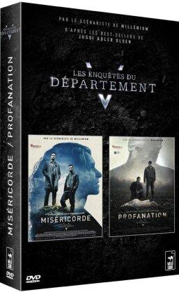 Les Enquêtes du Département V - Miséricorde / Profanation (2 DVDs)
