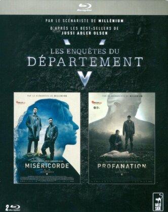 Les Enquêtes du Département V - Miséricorde / Profanation (2 Blu-rays)