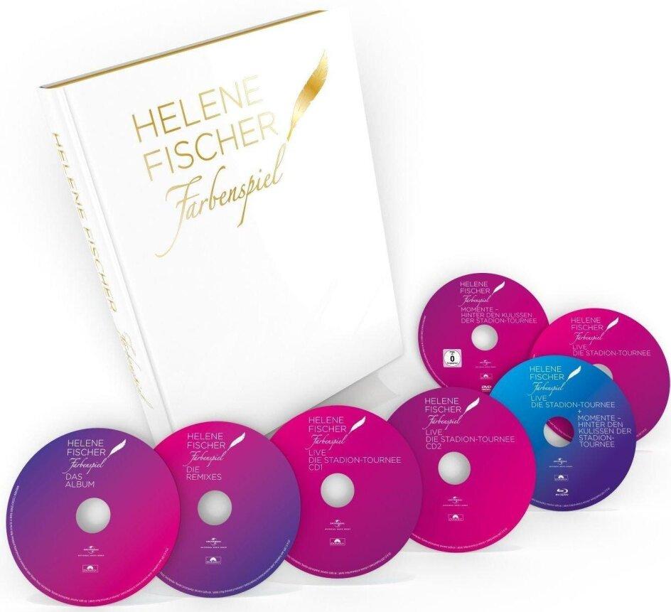 Helene Fischer - Farbenspiel Live - Die Stadion Tournee (Limited Edition, Blu-ray + 2 DVDs + 4 CDs + Buch)