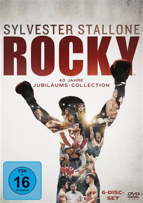 Rocky (40 Jahre Jubiläums-Collection, 6 DVDs)