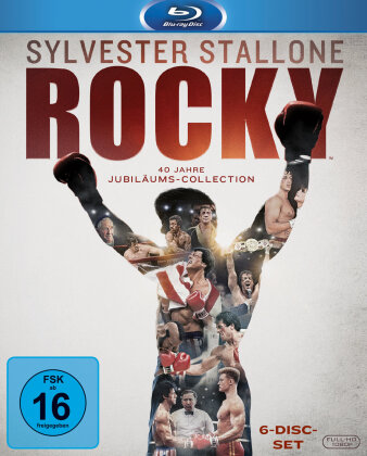 Rocky (40th Anniversary Edition, 6 Blu-rays)