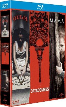 Ouija / Catacombes / Mama (3 Blu-rays)