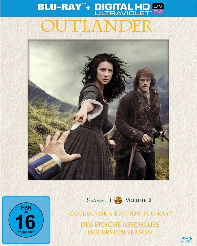 Outlander - Staffel 1.2 (Limited Collector's Edition, 3 Blu-rays)