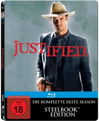 Justified - Staffel 1 (Steelbook, 3 Blu-rays)
