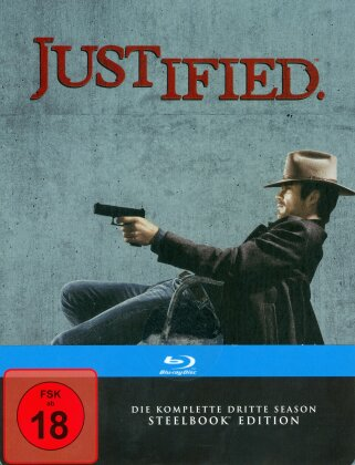 Justified - Staffel 3 (Steelbook, 3 Blu-rays)
