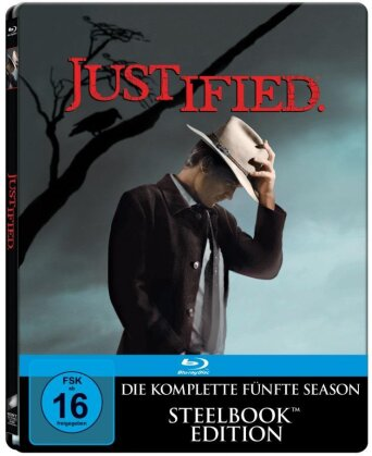 Justified - Staffel 5 (Steelbook, 3 Blu-rays)