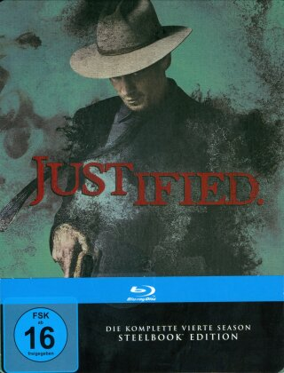 Justified - Staffel 4 (Steelbook, 3 Blu-rays)