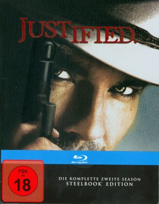 Justified - Staffel 2 (Steelbook, 3 Blu-rays)