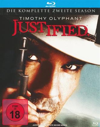 Justified - Staffel 2 (3 Blu-rays)