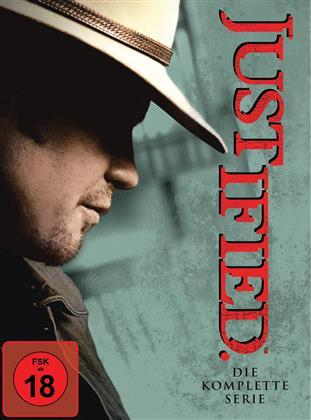 Justified - Staffeln 1-6 (18 DVDs)