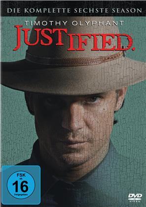 Justified - Staffel 6 - Die Finale Staffel (3 DVDs)