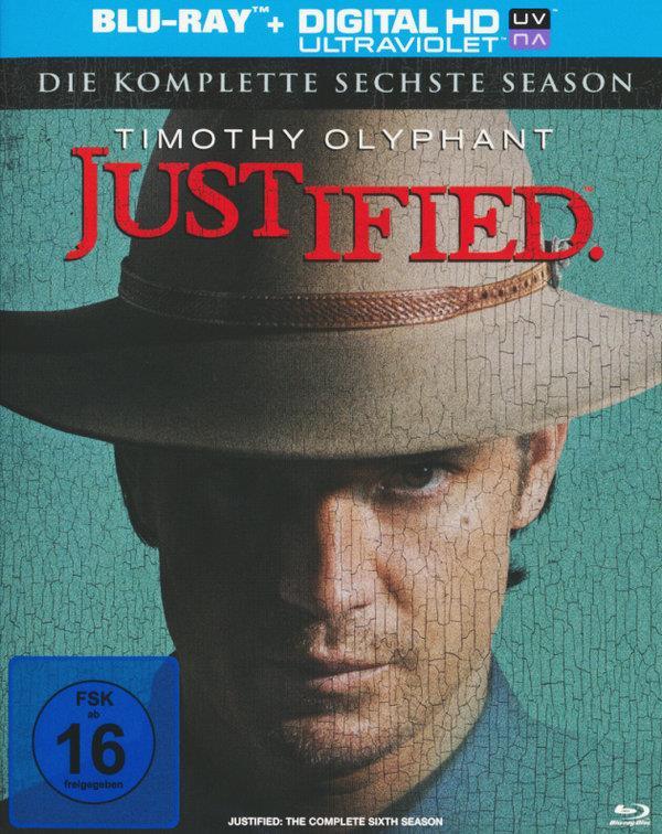 Justified - Staffel 6 - Die Finale Staffel (3 Blu-rays)