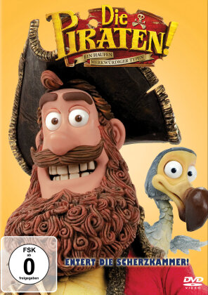 Die Piraten - Ein Haufen merkwürdiger Typen (2012) (Big Faces Edition)