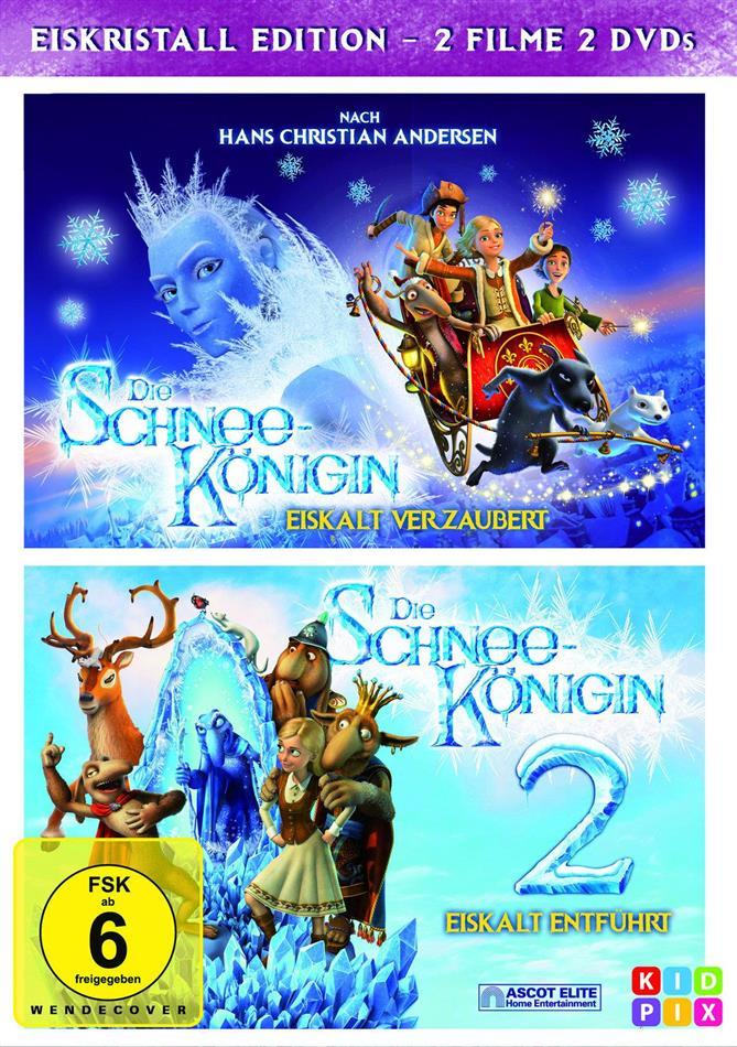 Die Schneekönigin 1+2 (2 DVDs)