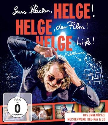 Helge Schneider - Lass Knacken, Helge! Helge, Der Film! Helge, Life! (Blu-ray + CD)