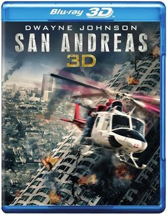 San Andreas (2015) (Blu-ray 3D (+2D) + Blu-ray + DVD)