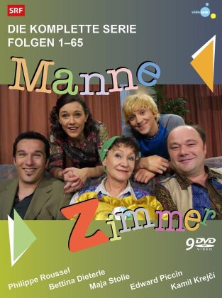 ManneZimmer - Die komplette Serie (9 DVDs)