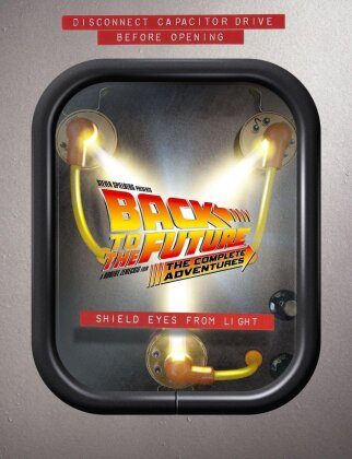 Back to the Future - The Complete Adventures (Limited Edition, 9 DVDs + Buch)
