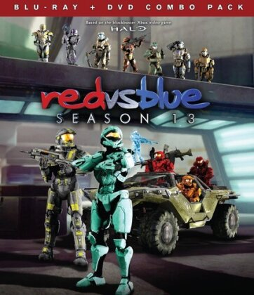Red vs. Blue - Season 13 (DVD + Blu-ray)