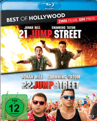 21 Jump Street / 22 Jump Street (Best of Hollywood, 2 Blu-rays)