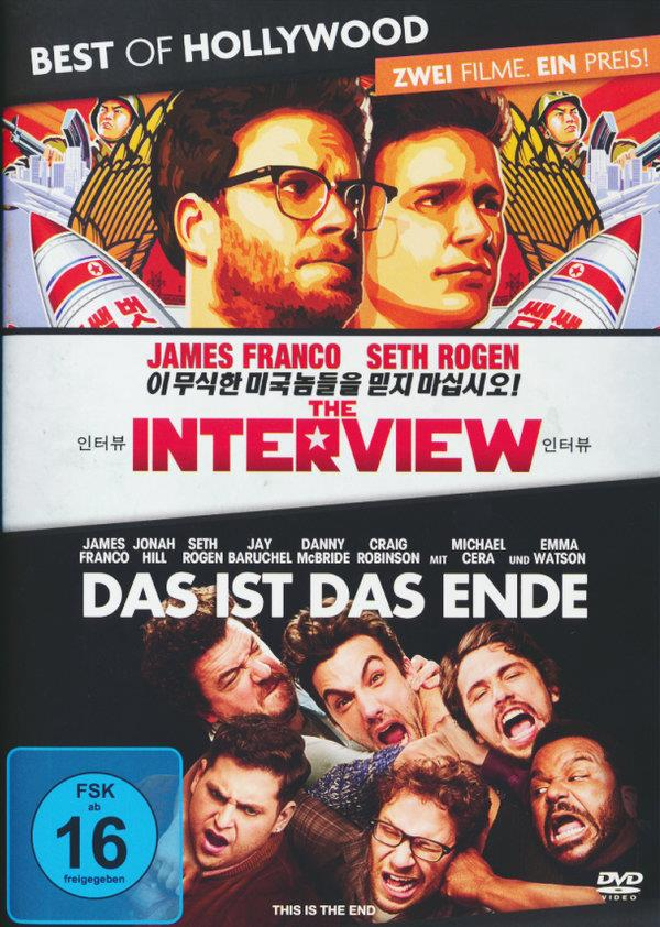 The Interview / Das ist das Ende (Best of Hollywood, 2 DVDs)