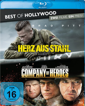 Herz aus Stahl / Company of Heroes (Best of Hollywood, 2 Blu-rays)