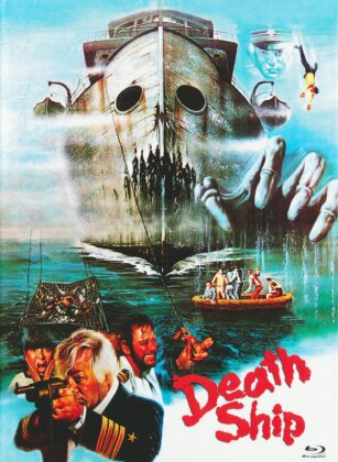 Death Ship (1980) (Cover B, Eurocult Collection, Limited Edition, Mediabook, Uncut, Blu-ray + DVD)