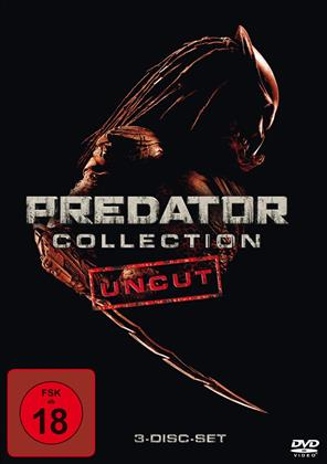 Predator Collection (Uncut, 3 DVDs)