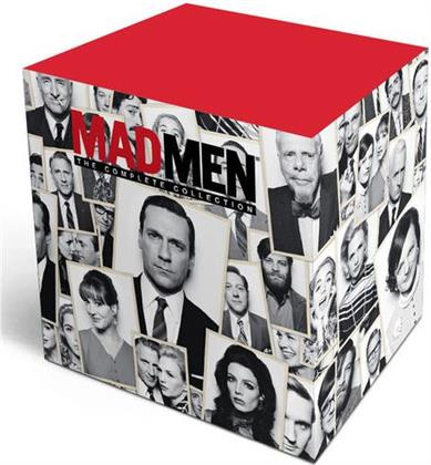 Mad Men - The Complete Collection: Season 1-7 (2 Tumbler Lowball Glasses, 4 Cork Coasters, Gift Set, Limited Edition, 32 DVDs)