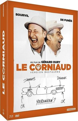 Le Corniaud (1964) (50th Anniversary Limited Edition, Restaurierte Fassung, Blu-ray + 2 DVDs + Buch)