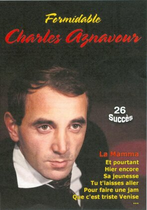 Charles Aznavour - Formidable Charles Aznavour - 26 Succés (s/w)