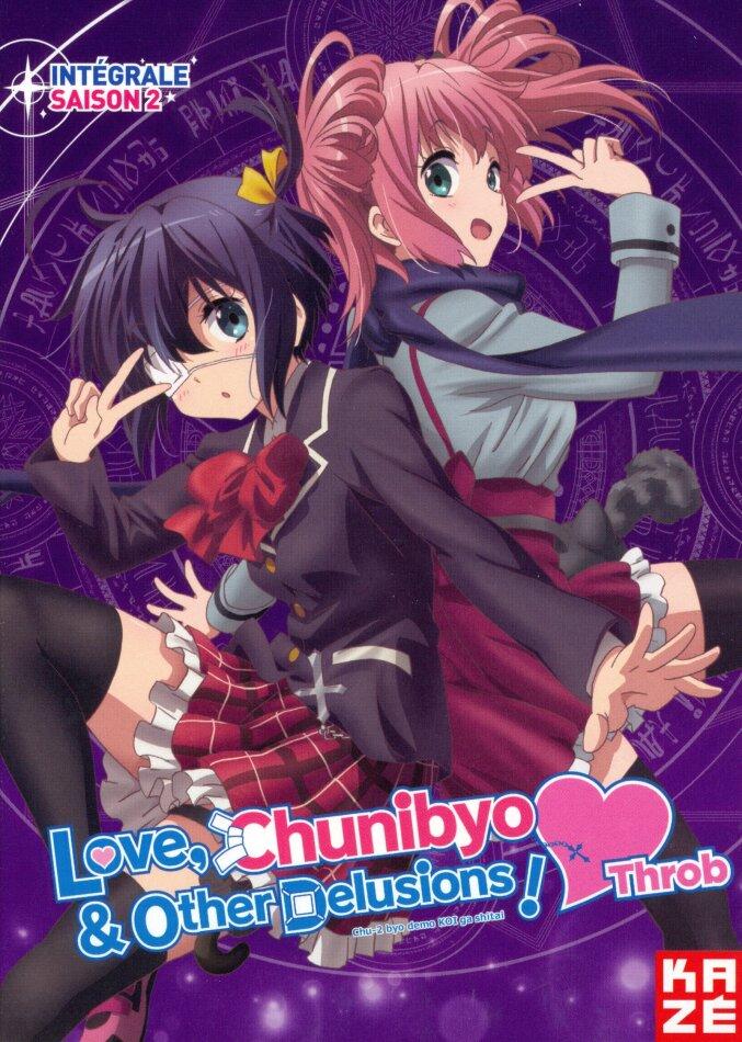 Love, Chunibyo & Other Delusions - Heart Throb - Intégrale Saison 2 (2014) (3 DVD)