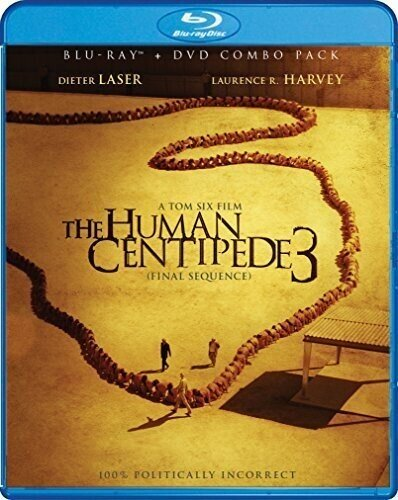 The Human Centipede 3 - The Final Sequence (2015) (DVD + Blu-ray)