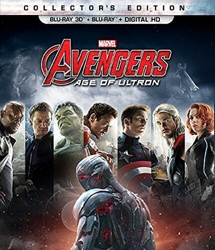 The Avengers 2 - Age of Ultron (2015) (Collector's Edition, Blu-ray 3D (+2D) + Blu-ray)