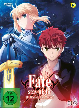 Fate/Stay Night: Unlimited Blade Works - Vol. 2 - Staffel 1.2 (Limited Edition, 2 DVDs)